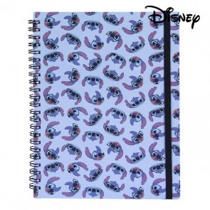 Quaderno con Anelli Stitch Disney