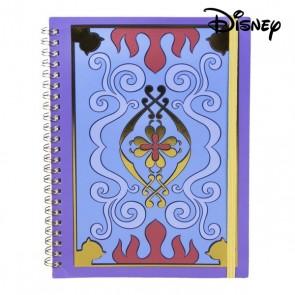Quaderno con Anelli Aladdin Disney