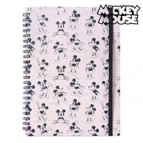 Quaderno con Anelli Mickey Mouse