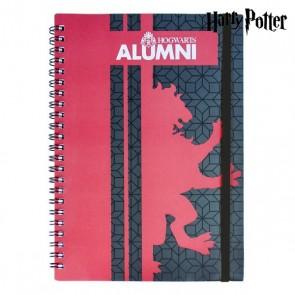 Quaderno con Anelli Gryffindor Harry Potter