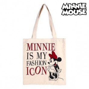 Borsa Multi-uso Minnie Mouse 702892 Bianco Cotone