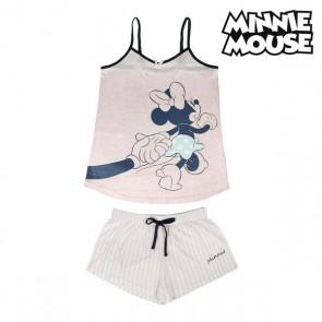 Pigiama Estivo Minnie Mouse Rosa Adulti