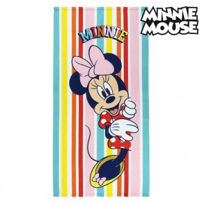 Telo da Mare Minnie Mouse 75686 Microfibra Multicolore