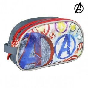 Necessaire per la Scuola The Avengers Grigio