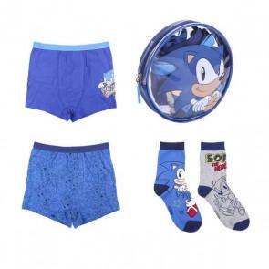 Confezione di Abbigliamento Intimo per Bambini Sonic Multicolore (4 pcs)