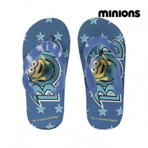Ciabatte da Piscina Minions 72365 Azzurro