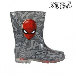 Stivali da pioggia per Bambini con LED Spiderman 72768