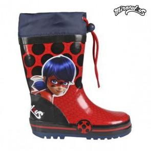 Stivali da pioggia per Bambini Lady Bug 72782 Rosso