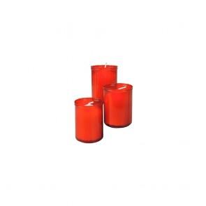 Candela Lumar Roșie Mic (3 uds)