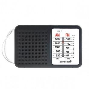 Radio Transistor Sunstech RPS411BK AM/FM Nero
