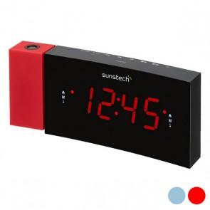 """Radio Sveglia Sunstech FRDP3 1,2"""" LED FM"""