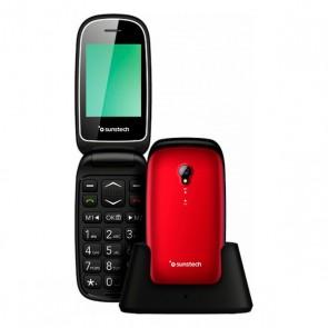 Telefono Cellulare Sunstech CELT17 Rosso