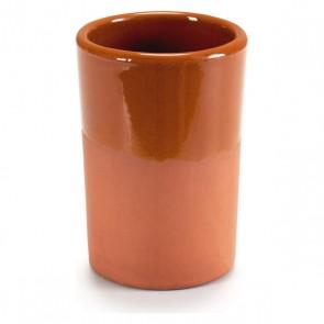 Bicchiere Argilla cotta Bicchiere (7 x 10 x 7 cm)
