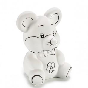 Salvadanaio Pincello PVC (10 x 13 x 8,5 cm) Mouse