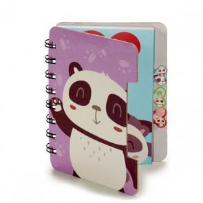 Agenda (12 x 1 x 9,2 cm) Panda