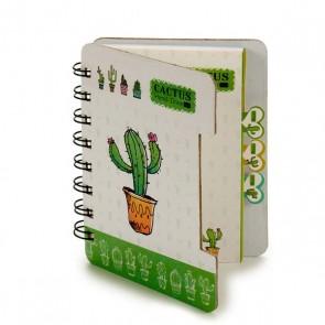 Agenda Cactus (12 x 1 x 9,2 cm) Cactus