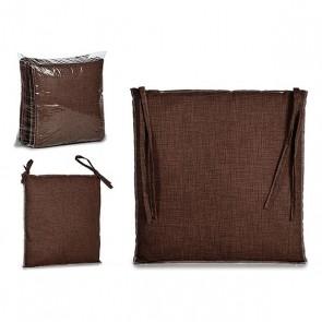 Cuscino per sedie Stoffa Cioccolato