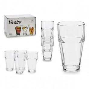 Bicchiere Vivalto (15,5 x 14 x 22,5 cm)