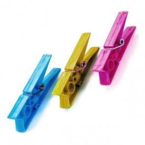 Mollette per Panni Plastica (20 Pezzi)