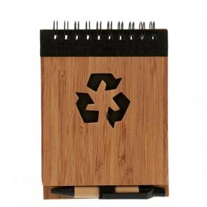 Mini Quaderno ad Anelli con Penna (1 x 10 x 13 cm)
