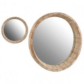 Specchio Gift Decor Legno (10 x 90 x 90 cm)