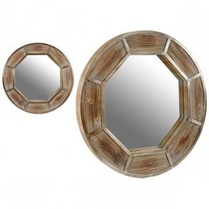 Specchio Gift Decor Legno (8 x 88,5 x 88,5 cm)