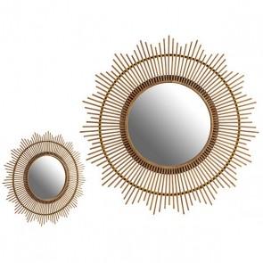 Specchio Gift Decor Natural (100 x 100 x 3 cm)