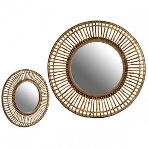 Specchio Gift Decor Natural (82 x 7 x 82 cm)