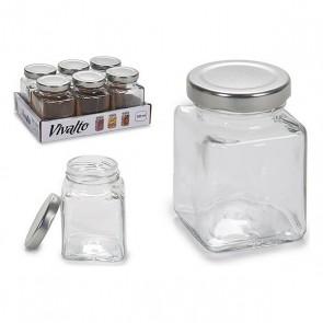 Barattolo di Vetro Vivalto Con coperchio 100 ml