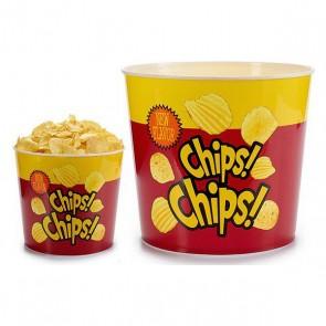 Secchio Chips Rotund