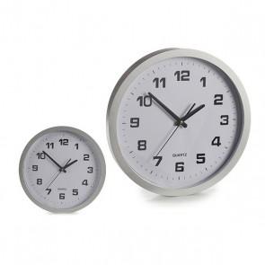 Orologio da Parete Gift Decor Argento (37 x 4 x 37 cm)