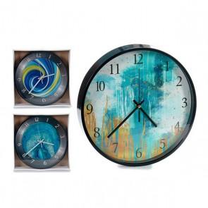 Orologio da Parete Nero 3 (30 x 4 x 30 cm)