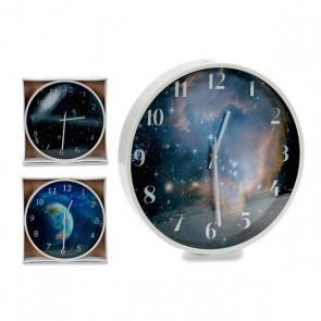Orologio da Parete Gift Decor Bianco (30 x 4 x 30 cm)