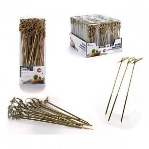 Set di Spiedini per Barbecue Bambù (50 uds)