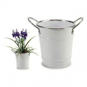 Vaso (11 x 12,5 x 15,5 cm) Bianco