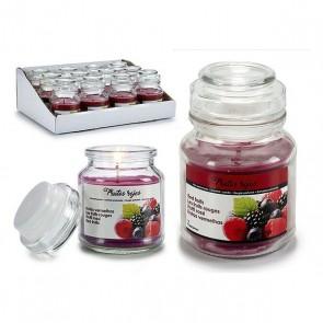Candela Profumata Red Berries Vaso
