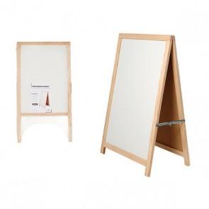 Lavagna Pincello Bianco Legno (3 x 100 x 52,5 cm)