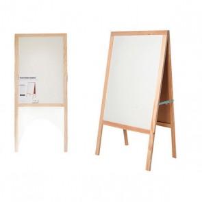 Lavagna Pincello Bianco Legno (3 x 120 x 53 cm)