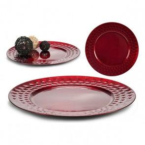 Tavolo Gift Decor Rosso Plastica (33 x 2 x 33 cm)