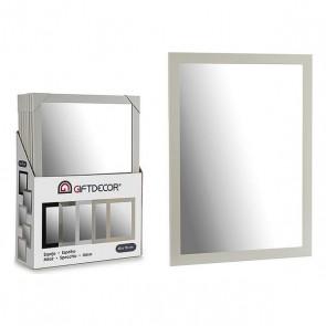 Specchio da parete Bianco (55 x 75 cm)