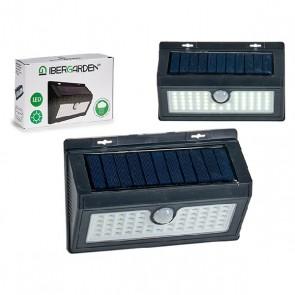 Lampada ad energia solare Dreptunghiular Nero