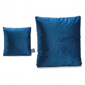 Cuscino Gift Decor Azzurro Velluto (45 x 8 x 45 cm)
