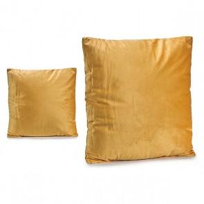 Cuscino Gift Decor Velluto Ocra (45 x 8 x 45 cm)