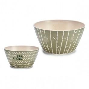 Castron Bambù (0,58 L) (14,5 x 7 x 14,5 cm)