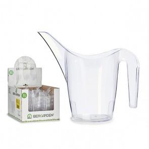 Annaffiatoio Trasparente Plastica Trasparente (1L) (13 x 20 x 26 cm)