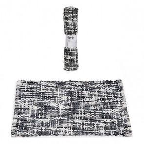 Tappeto da bagno Grigio Scuro (50 x 80 cm)