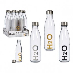 Bottiglia d'acqua H2O Trasparente