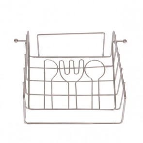 Portatovagliolo Acciaio (17,2 x 7,5 x 21 cm)