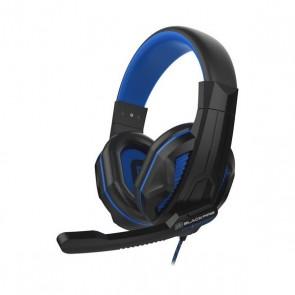 Auricolari con Microfono Gaming Ardistel BLACKFIRE BFX-15B PS4 Nero Azzurro