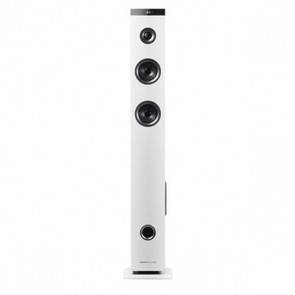 Altoparlante a Colonna Bluetooth Energy Sistem Energy Tower 3 G2 45W 2.1 USB Micro SD Bianco Radio